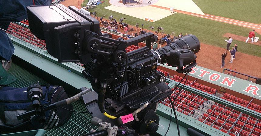 Sony stellt die Technik: Fussball-Weltmeisterschaft 2014 in Ultra-HD
