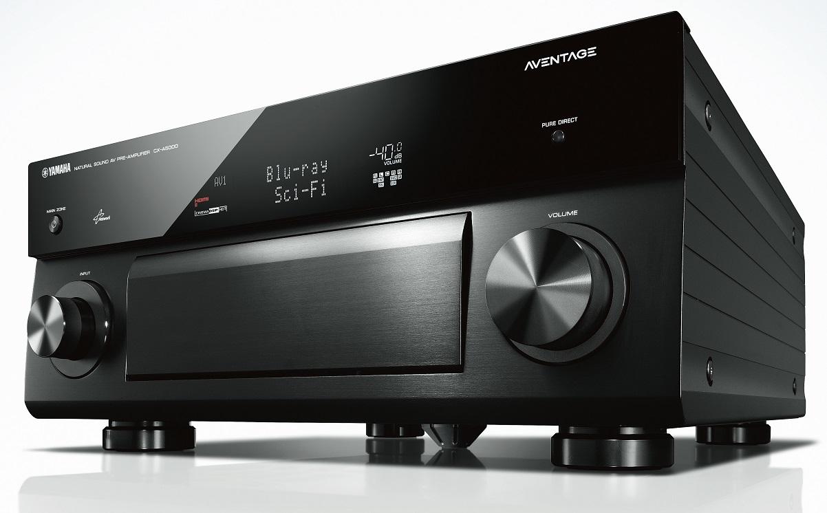 Yamaha Produktpflege: Update für AV-Receiver-Modelle und High-End-Vorstufe CX-A5000
