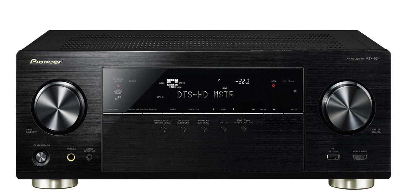 5 neue Pioneer Mehrkanal-Receiver mit 4k UHD Unterstützung