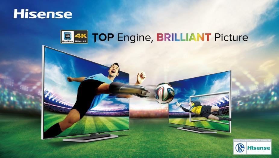 Europa-Premiere auf der IFA 2014: UHD-TV-Modelle Hisense 55K681 und 65XT810