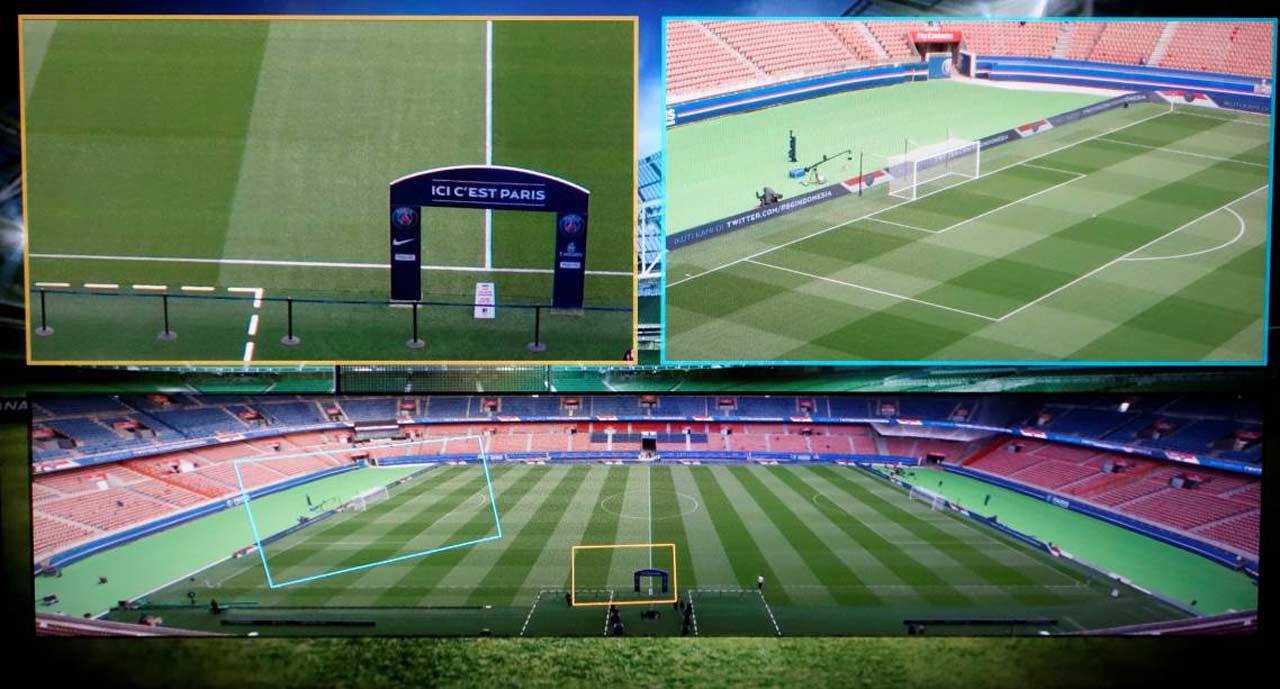 Sony 4K-Stitching - neue Technologieen für Live Fussballübertragungen