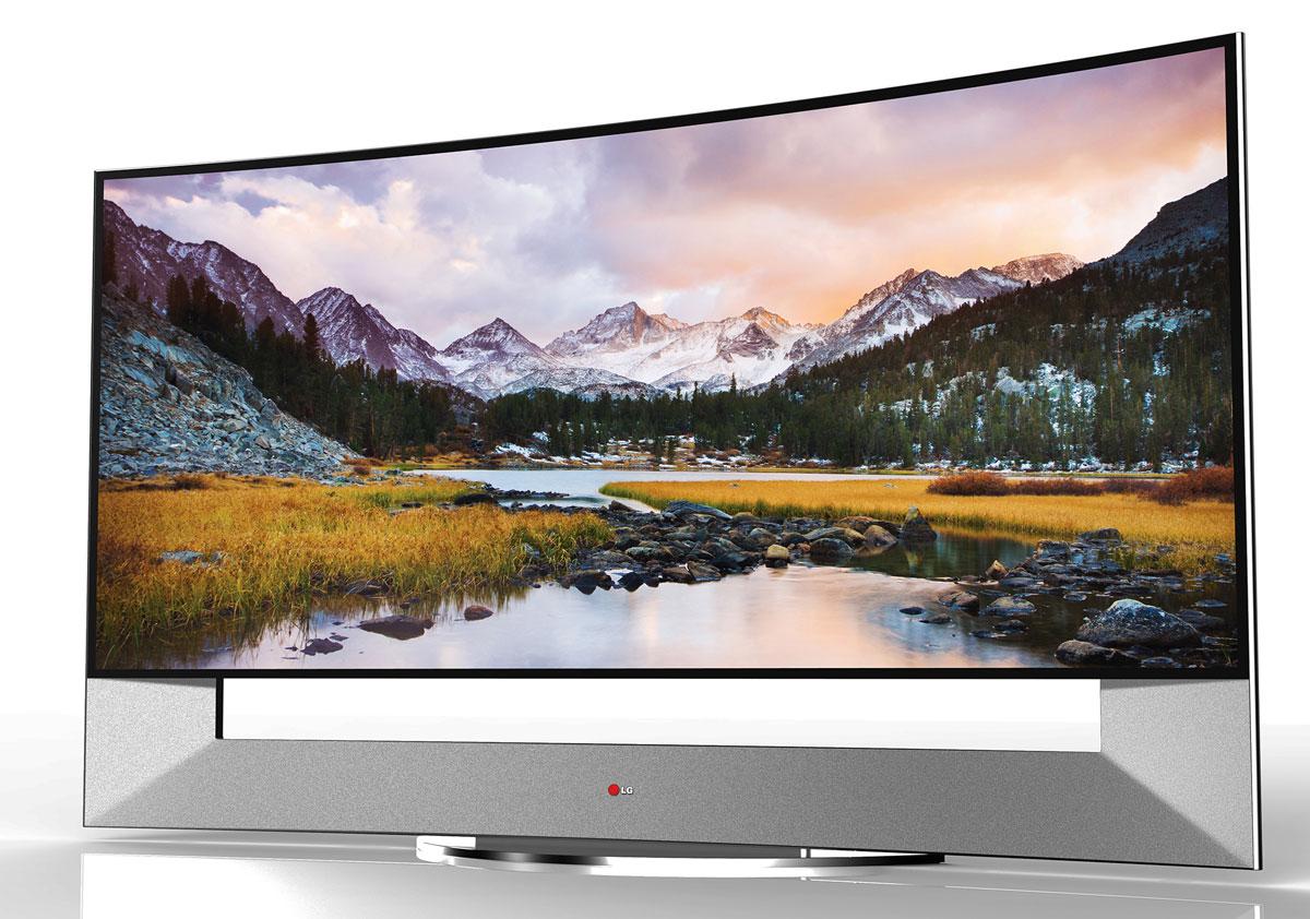 LG zeigt spektakuläre Ultra HD Fernseher auf der CES 2014
