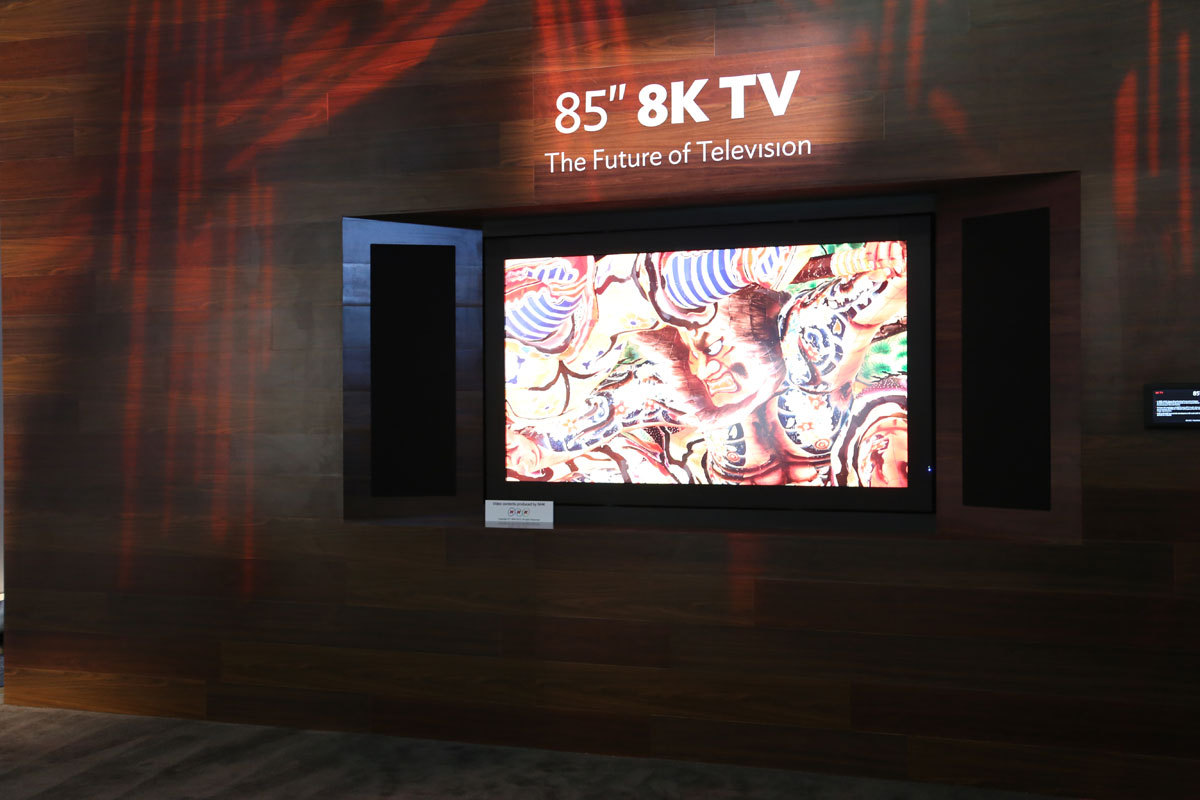 8K-Übertragung erfolgreich getestet