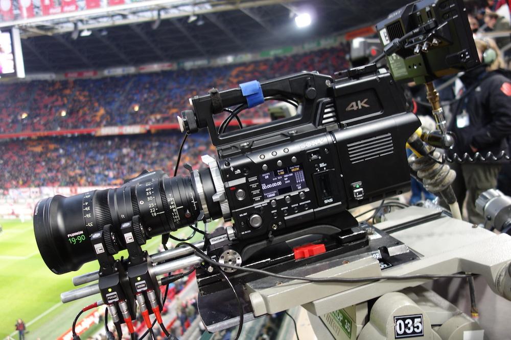 4k Test von Fujinon und Sony beim Fußballklassiker
