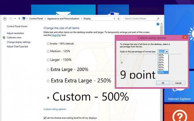 Windows goes Ultra-HD: UHD-Optimierung für Windows 8.1