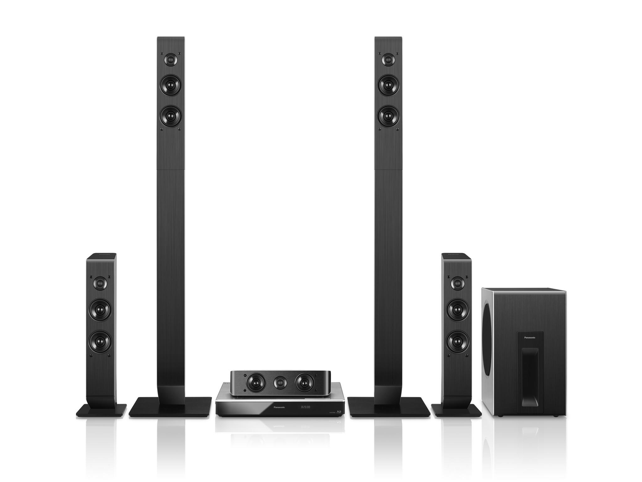 Panasonic SC-BTT865 und SC-BTT505: Neue 4k Blu-ray Komplettsysteme