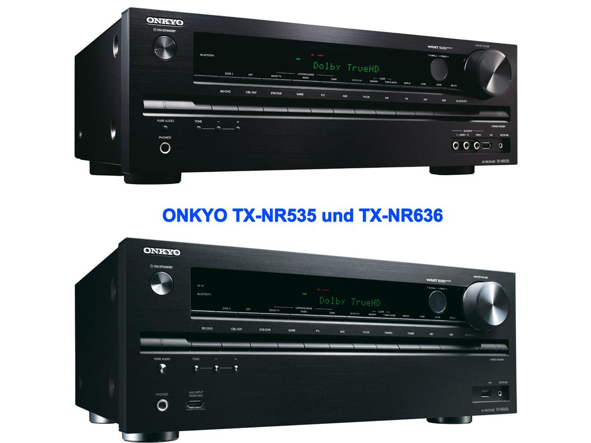 Onkyo präsentiert neue 4k-AV-Receiver: TX-NR535 und TX-NR636