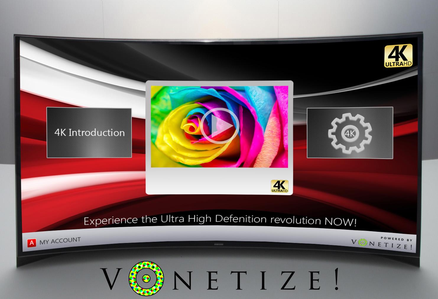 Mit Vonetize steht ein 4k Streaming Portal in den Startlöchern