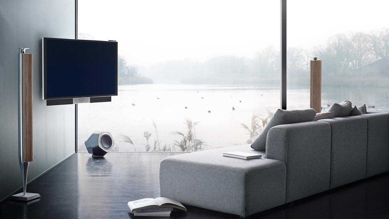 Bang & Olufsen BeoVision Avant – 55 Zoll UHD 4K Fernseher mit drehbaren Standfuß