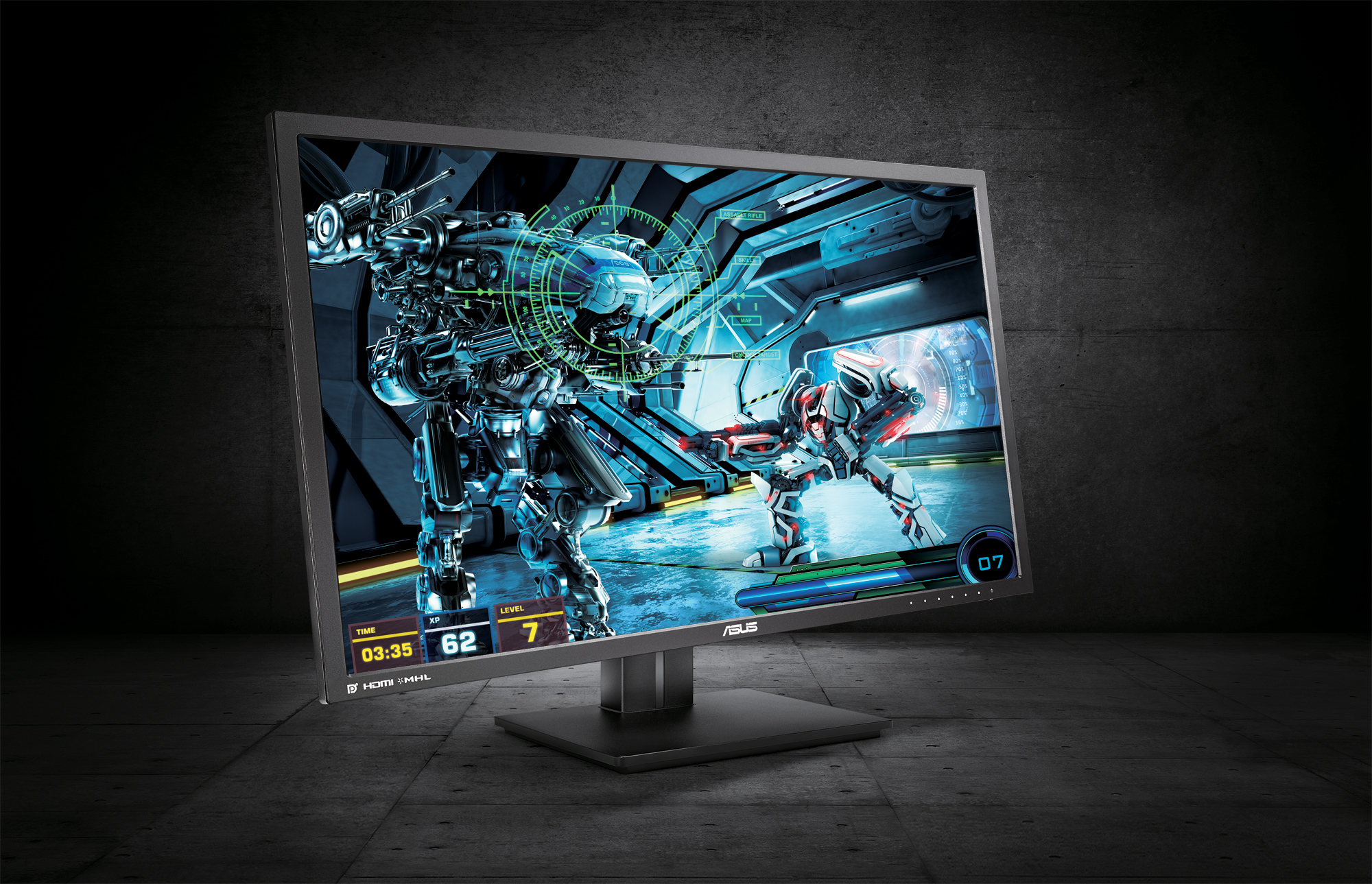 Asus PB287Q: 28-Zoll UHD-4K-Display für Office und Gaming