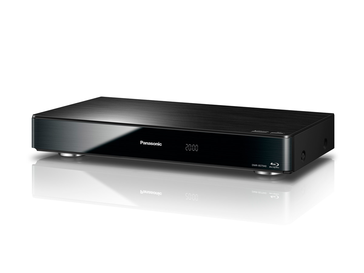 Panasonic DMR-BCT940: Triple HD Tuner, 2 TB HDD, 4k Upscaling und TV Anywhere