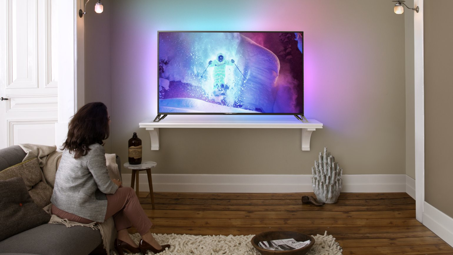 Philips 65PUS9809 UHD Ambilight TV powered by Android