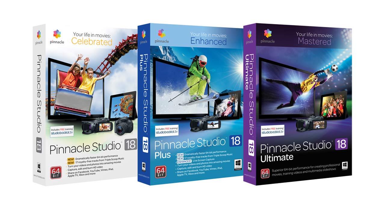 Pinnacle Studio 18: 64-Bit und 4K UHD-Unterstützung